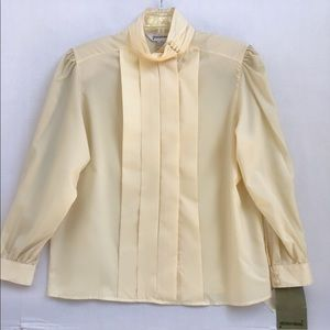 80s-90s Vintage Sheridan Square Blouse size 18